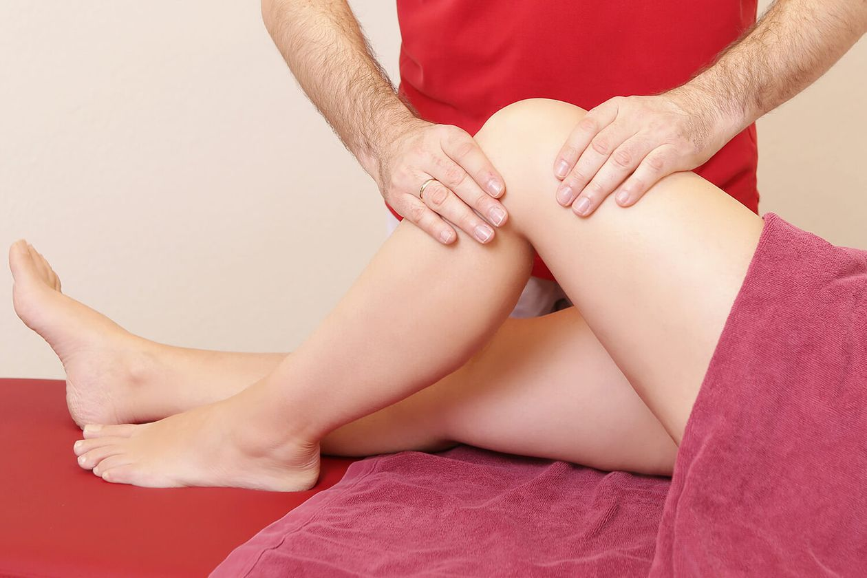 Lymphdrainage Knie
